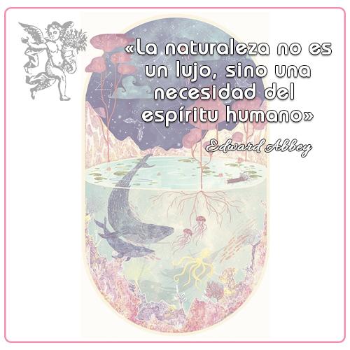 #FraseDeldia « La naturaleza no es un lujo, sino una necesidad del espíritu humano » Edward Abbey