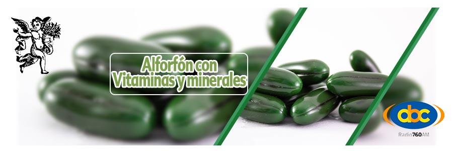 Alforfon con vitaminas y minerales, el ángel de tu salud, programa de radio con rodrigo mondragón