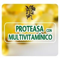 Proteasa con multivitaminico, herbolaria, suplementos alimenticios, el angel de tu salud, rodrigo mondragón,
