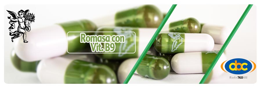 Romasa con vitamina b9, programa de radio con rodrigo mondragón